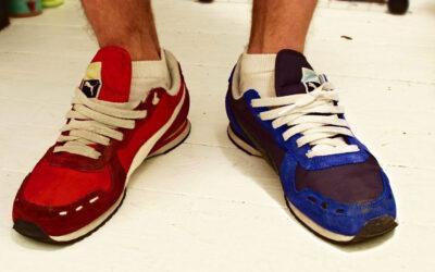 """""""Wil je de rode of de blauwe schoentjes aan?"""""""